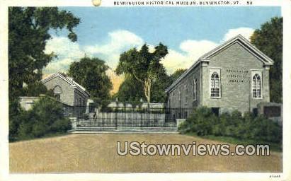 Bennington Historical Museum - Vermont VT Postcard