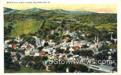 Montpelier, Vermont      ;     Montpelier, VT Postcard