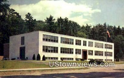 Proctor High School - Vermont VT Postcard