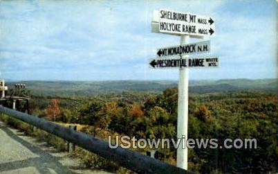 Hogback Mtn - Brattleboro, Vermont VT Postcard