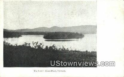 The Island - Island Pond, Vermont VT Postcard
