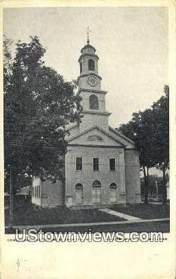 Congregational Church - Chester, Vermont VT Postcard