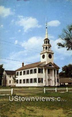Congregational Church - Norwich, Vermont VT Postcard