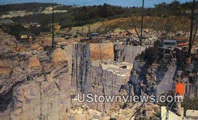 Rock of Ages Granite Quarry - Barre, Vermont VT Postcard