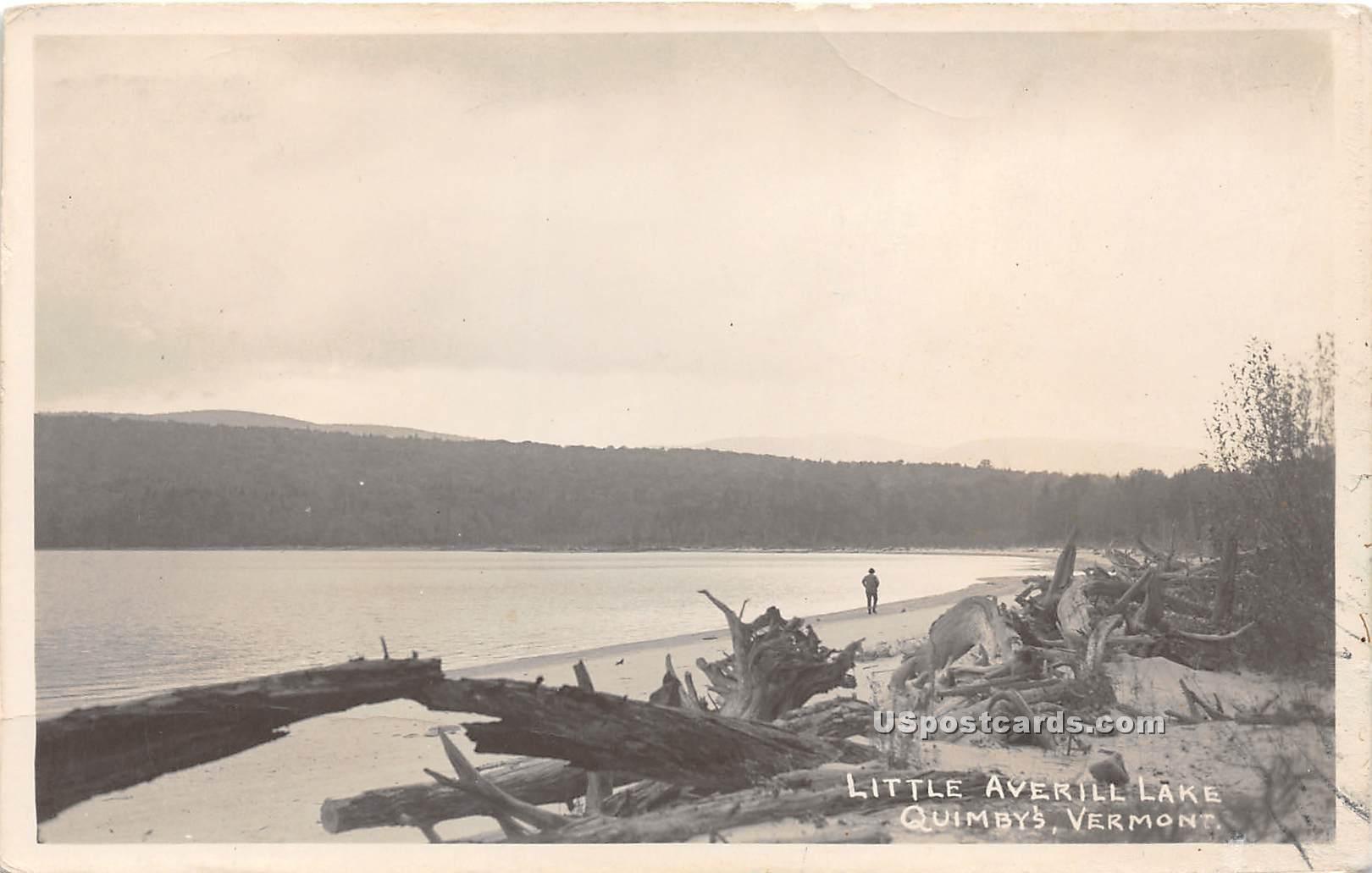 Little Averill Lake - Quimbys, Vermont VT Postcard