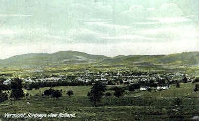 Misc - Rutland, Vermont VT Postcard