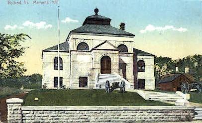 Memorial Hall - Rutland, Vermont VT Postcard