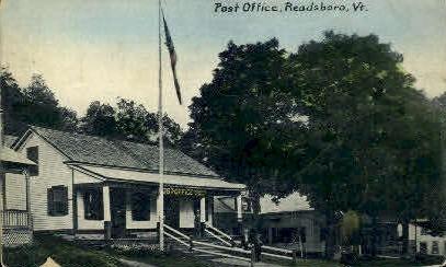 Post Office - Readsboro, Vermont VT Postcard