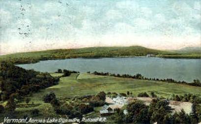 Lake Dunmore - Rutland, Vermont VT Postcard