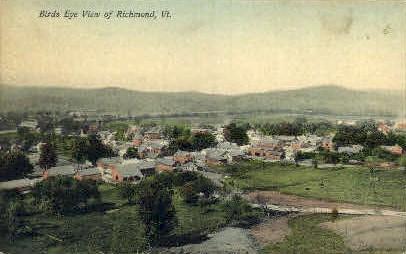 Richmond - Vermont VT Postcard