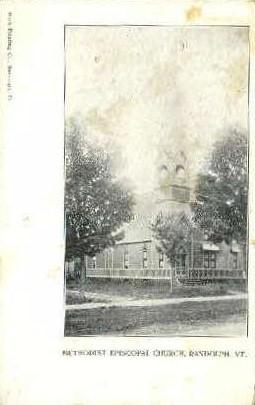 Methodist Episcopal Church - Randolph, Vermont VT Postcard