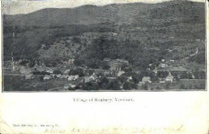 Village  - Roxbury, Vermont VT Postcard