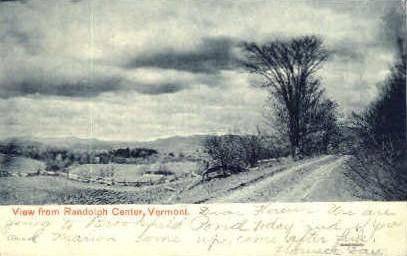 Misc - Randolph, Vermont VT Postcard