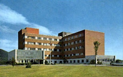 Rutland Hospital - Vermont VT Postcard