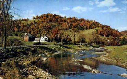 White River - Royalton, Vermont VT Postcard