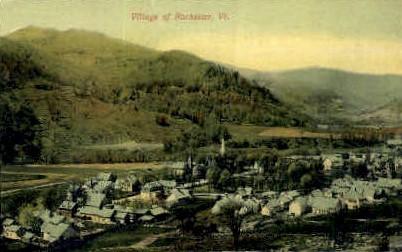 Village  - Rochester, Vermont VT Postcard
