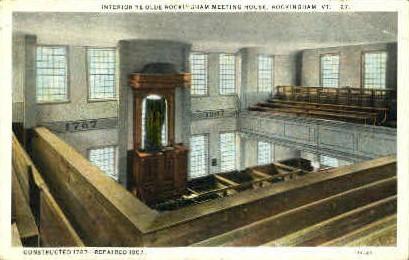 Ye Olde Rockingham House - Vermont VT Postcard