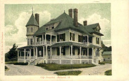City Hospital - Rutland, Vermont VT Postcard