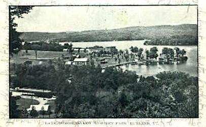 Lake Romoseen - Rutland, Vermont VT Postcard