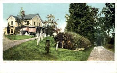 Residence of J. C. R. Dorr - Rutland, Vermont VT Postcard