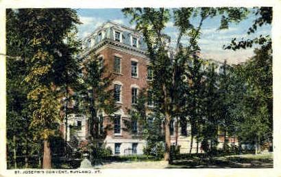 St. Joseph's Covenant - Rutland, Vermont VT Postcard