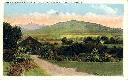 Mount Killington - Rutland, Vermont VT Postcard