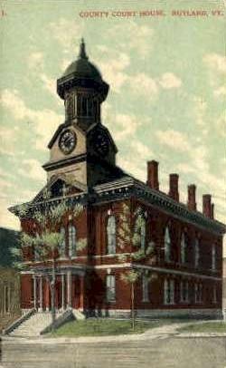 Counry Court House - Rutland, Vermont VT Postcard
