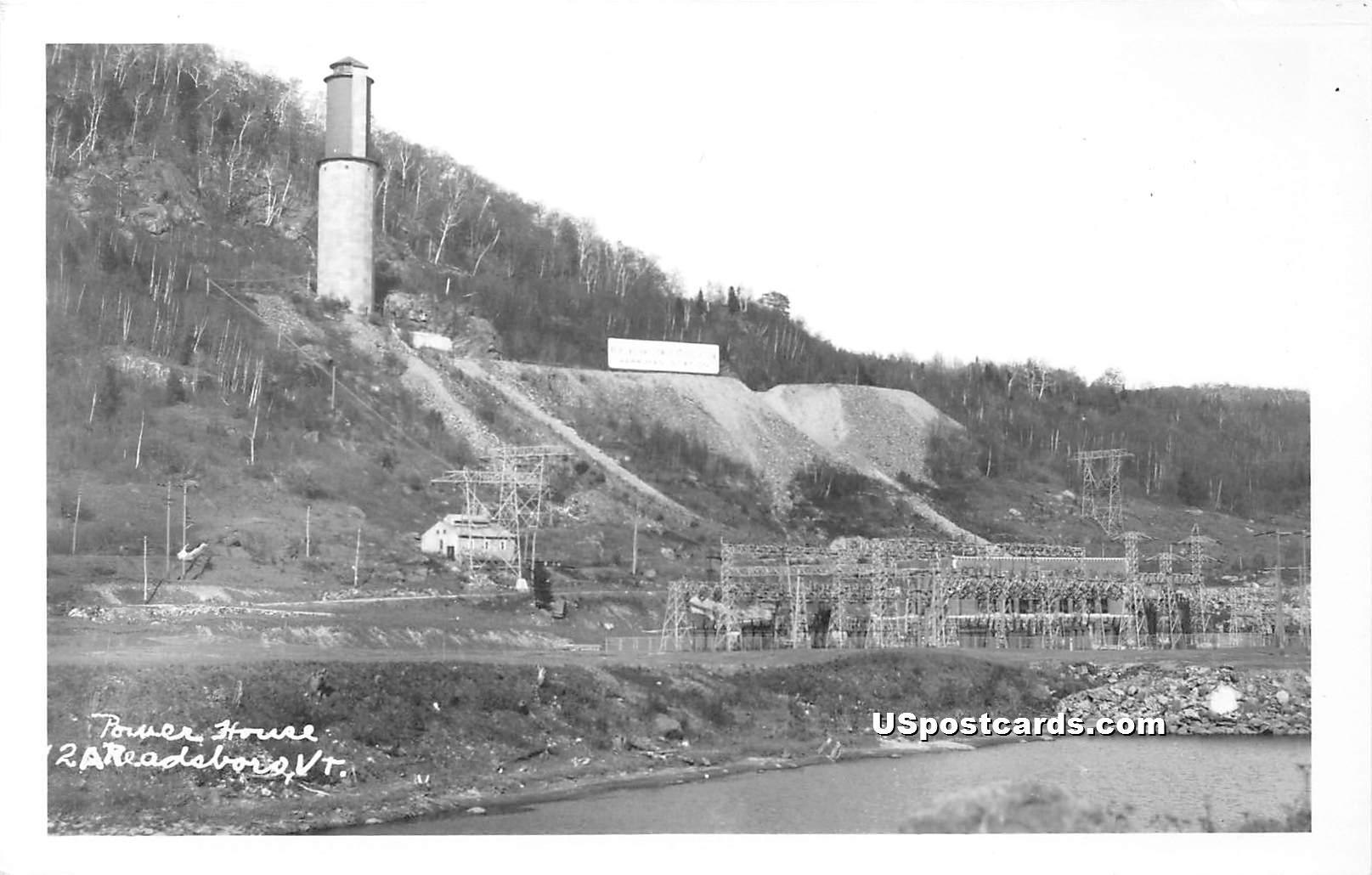Power House - Readsboro, Vermont VT Postcard