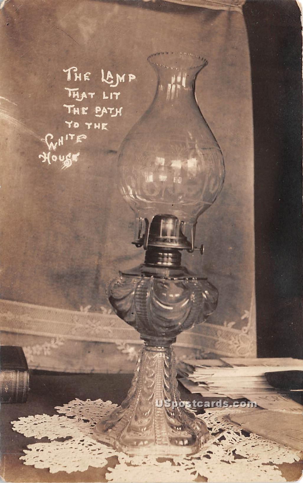 Lamp - Rutland, Vermont VT Postcard