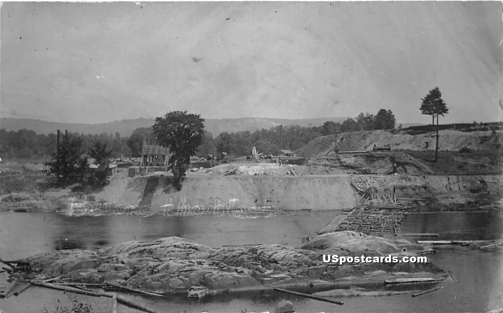 Logging - Rumerston, Vermont VT Postcard