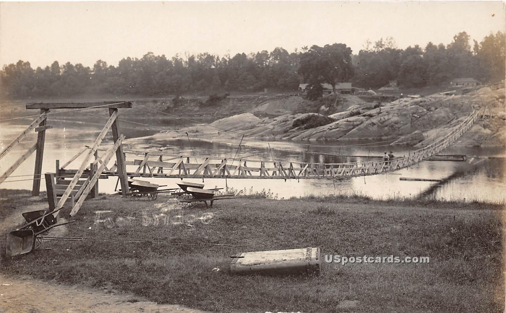 Bridge - Rumerston, Vermont VT Postcard