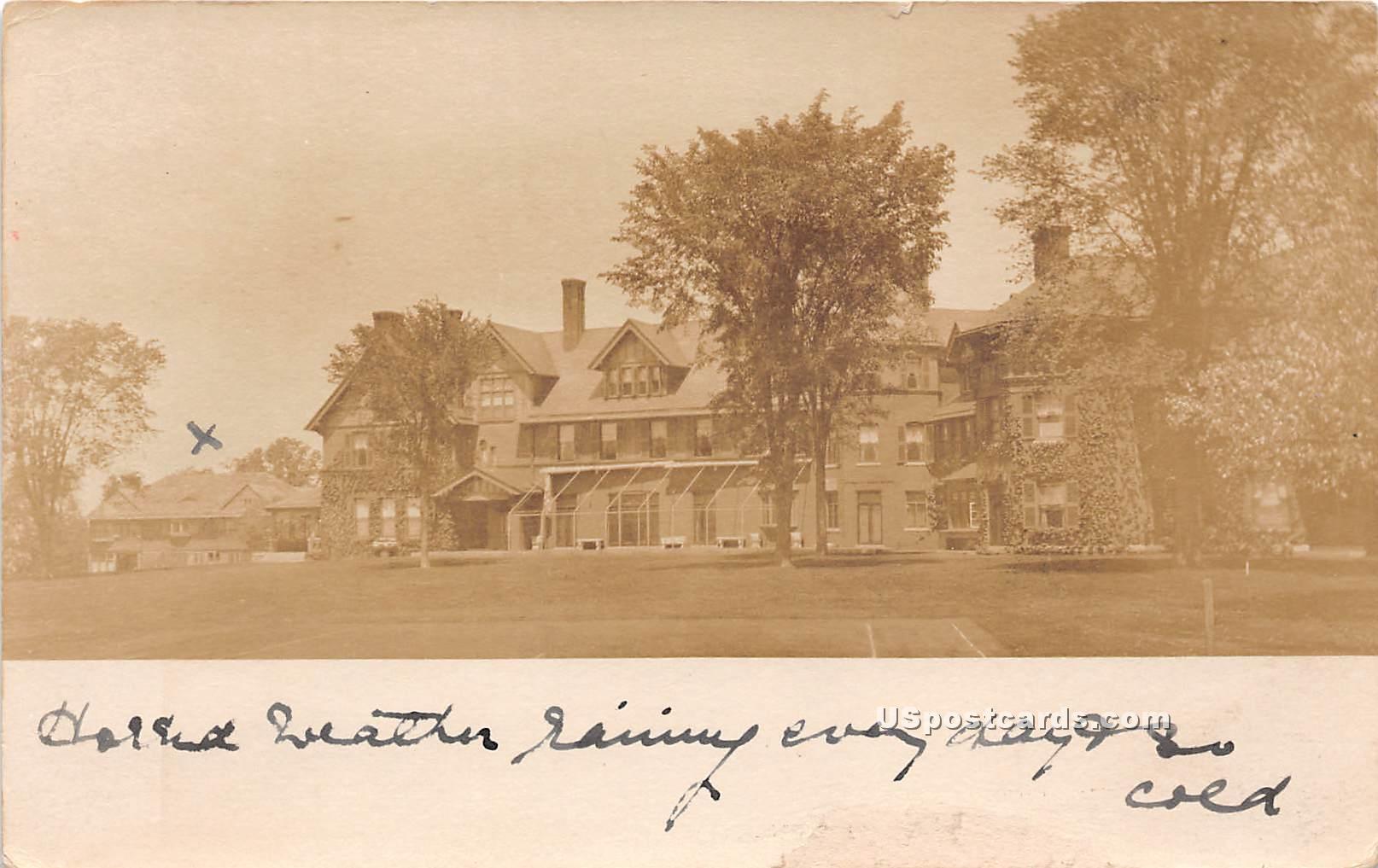 Residences - Shelburne, Vermont VT Postcard