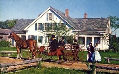 Dorset Castle - Shelburne, Vermont VT Postcard