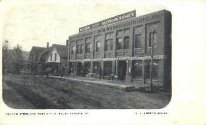 Terry's Store - Ryegate, Vermont VT Postcard