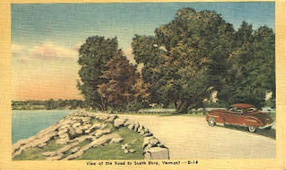 Misc - South Hero, Vermont VT Postcard