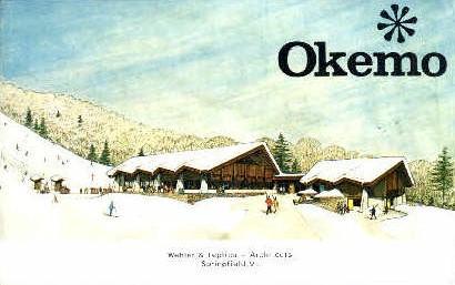 Okemo - Springfield, Vermont VT Postcard