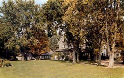 Hartness House - Springfield, Vermont VT Postcard