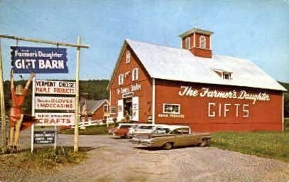 Farmer's Daughter - St Johnsbury, Vermont VT Postcard
