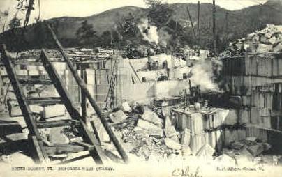Norcross-West Quarry - South Dorset, Vermont VT Postcard