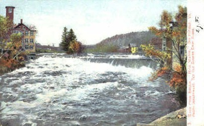 High Water - Springfield, Vermont VT Postcard