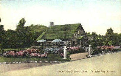 Cary's Maple Cabin - St Johnsbury, Vermont VT Postcard
