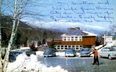 Toll House Inn - Stowe, Vermont VT Postcard