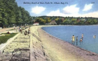 State Park - St Albans, Vermont VT Postcard