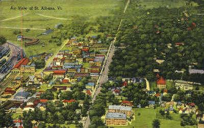St. Albans - St Albans, Vermont VT Postcard