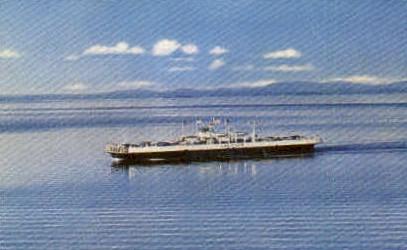 M. V. Valcour Ferry - Shelburne, Vermont VT Postcard