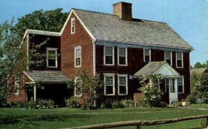 Dutton House - Shelburne, Vermont VT Postcard