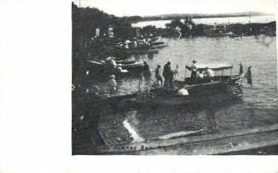Bay - St Albans, Vermont VT Postcard