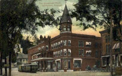 Adnabrown Hotel - Springfield, Vermont VT Postcard