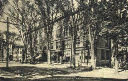 Savings Bank - Springfield, Vermont VT Postcard