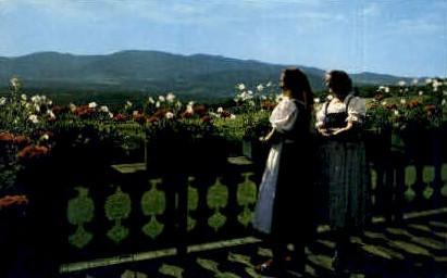 Baroness Von Trapp - Stowe, Vermont VT Postcard